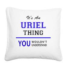Cute Uriel Square Canvas Pillow