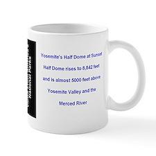 Yosemite National Park Half Dome Sunset Mug