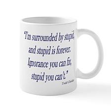 stupid-forever Small Mug