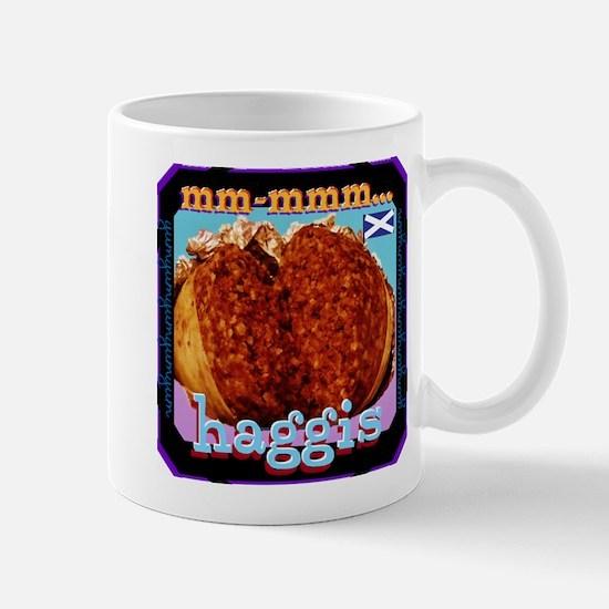 mm-mmm... Haggis! Mugs