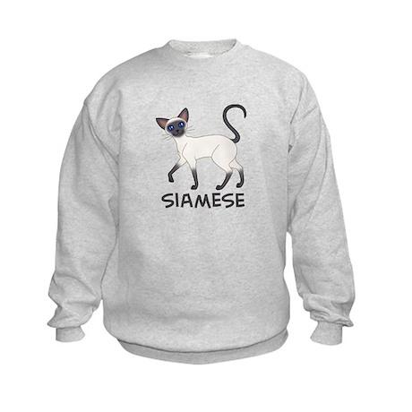 Blue Point Siamese Kids Sweatshirt