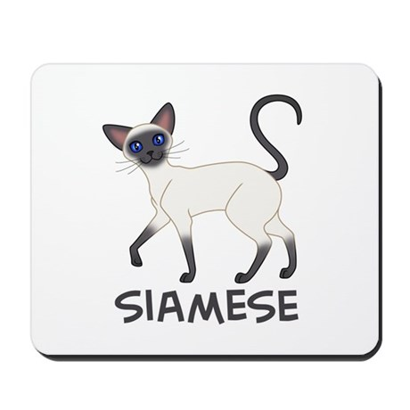 Blue Point Siamese Mousepad