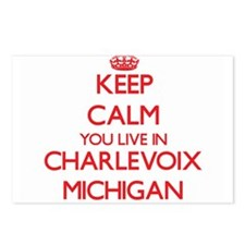 Keep calm you live in Cha Postcards (Package of 8)