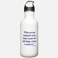 stop-chasing Water Bottle