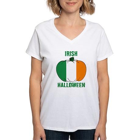 Irish Halloween Women's V-Neck T-Shirt