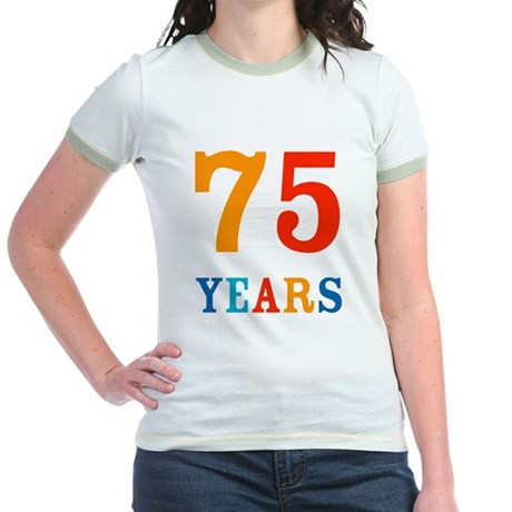 The 75th. Jr. Ringer T-Shirt