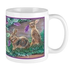 Cottontail rabbits Mug