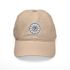 Bass Clef Circle of Fifths Baseball Cap