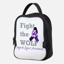 Fight the Wolf Neoprene Lunch Bag