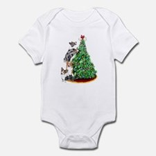 Corgi Christmas Infant Bodysuit