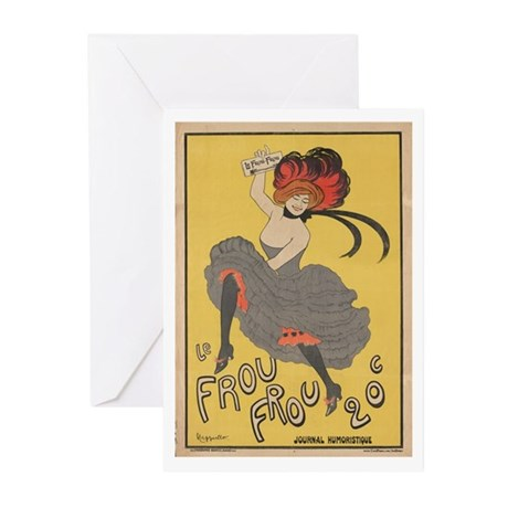 """Le Frou Frou"" Greeting Cards (Pk of 10)"
