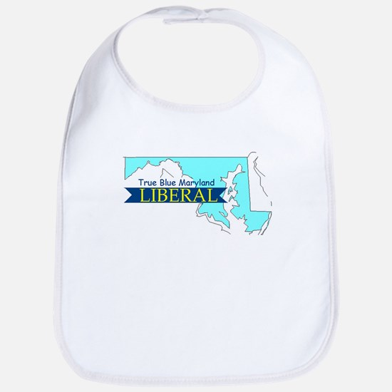 Bib for a young True Blue Maryland Liberal