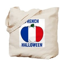French Halloween Tote Bag