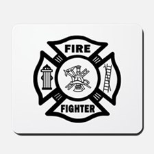 Fire Fighter Mousepad