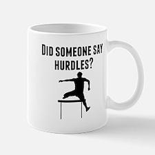Did Someone Say Hurdles Mugs