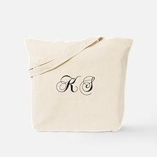 KS-cho black Tote Bag
