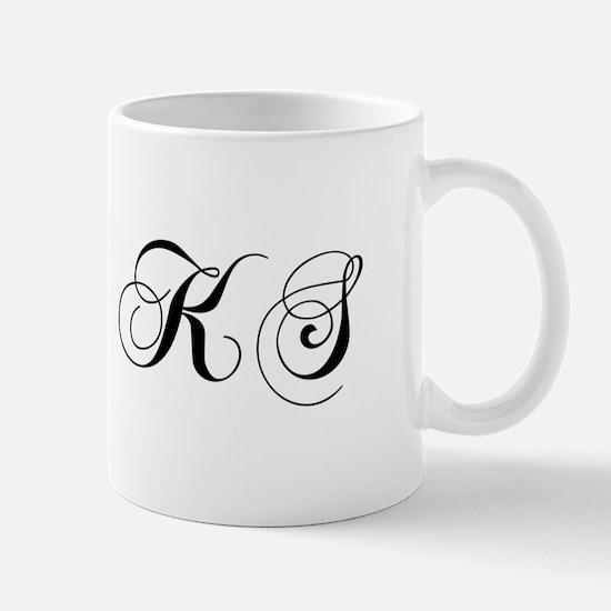 KS-cho black Mugs