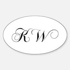 KW-cho black Decal