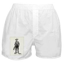 1920s Movie Cowboy Boxer Shorts
