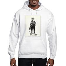 1920s Movie Cowboy Hoodie