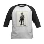 1920s Movie Cowboy Kids Baseball Jersey