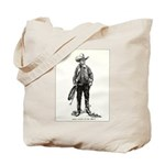 1920s Movie Cowboy Tote Bag
