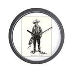 1920s Movie Cowboy Wall Clock