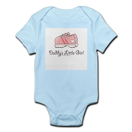 Pink Running Shoes Infant Bodysuit