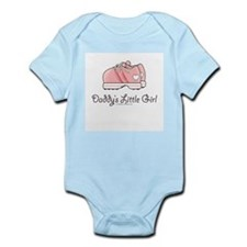 Pink Running Shoes Infant Bodysuit