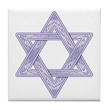 Star of David Tile Coaster