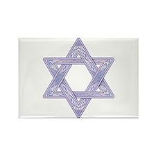 Star of David Rectangle Magnet