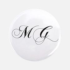 """MG-cho black 3.5"""" Button"""