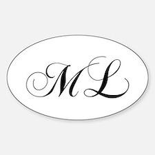 ML-cho black Decal