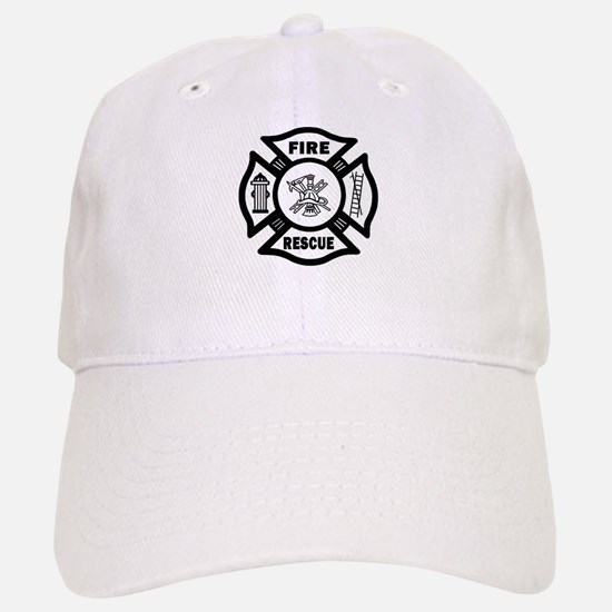 Fire Rescue Baseball Baseball Cap