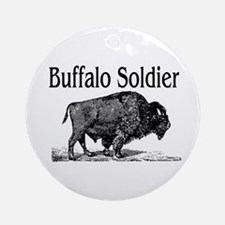 BUFFALO SOLDIER Ornament (Round)