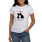 I Love Kisses Women's T-Shirt