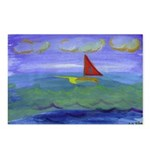 Calm Serene Voyage Postcards (Package of 8)
