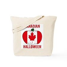 Canadian Halloween Tote Bag