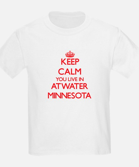 Keep calm you live in Atwater Minnesota T-Shirt