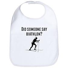 Did Someone Say Biathlon Bib