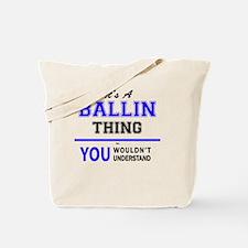 Funny Ballin Tote Bag