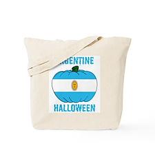 Argentine Halloween Tote Bag