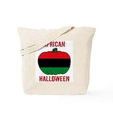 African American Halloween Tote Bag