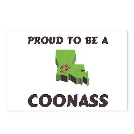 Proud CoonAss Cajun Postcards (Package of 8)