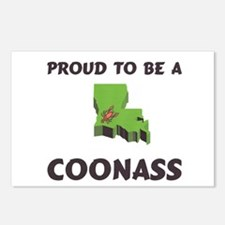 Proud CoonAss Cajun Postcards (Package of 8)