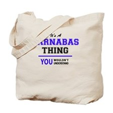 Cute Barnabas Tote Bag