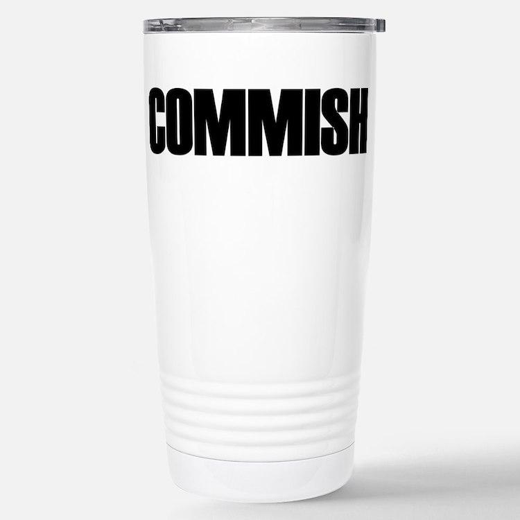 Cute Commissioner Travel Mug
