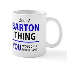 Unique Barton Mug