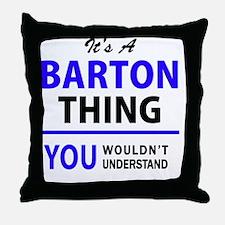 Unique Barton Throw Pillow