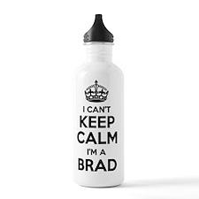 Funny Brad Water Bottle